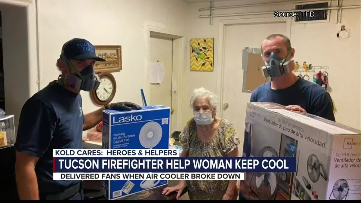 Aug. 21, 2020 KOLD Heroes and Helpers: Tucson Fire fan