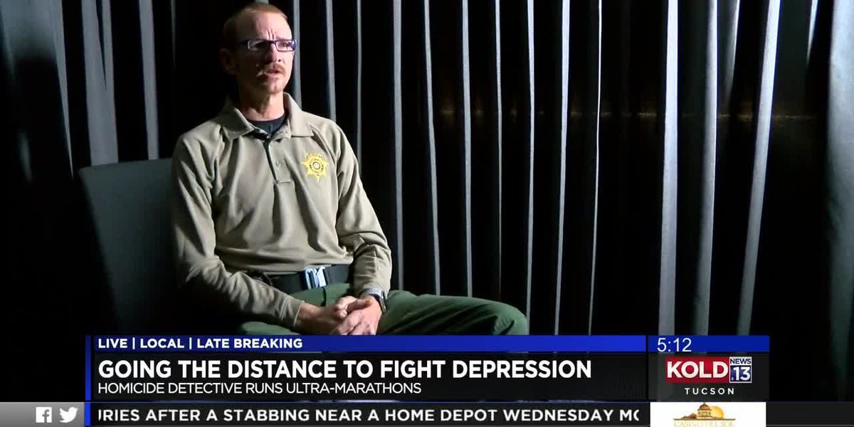 Going the distance to fight depression