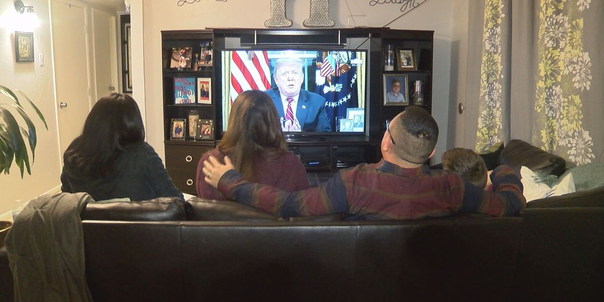 Tucson federal corrections officer reacts to President Trump's speech on border wall, shutdown