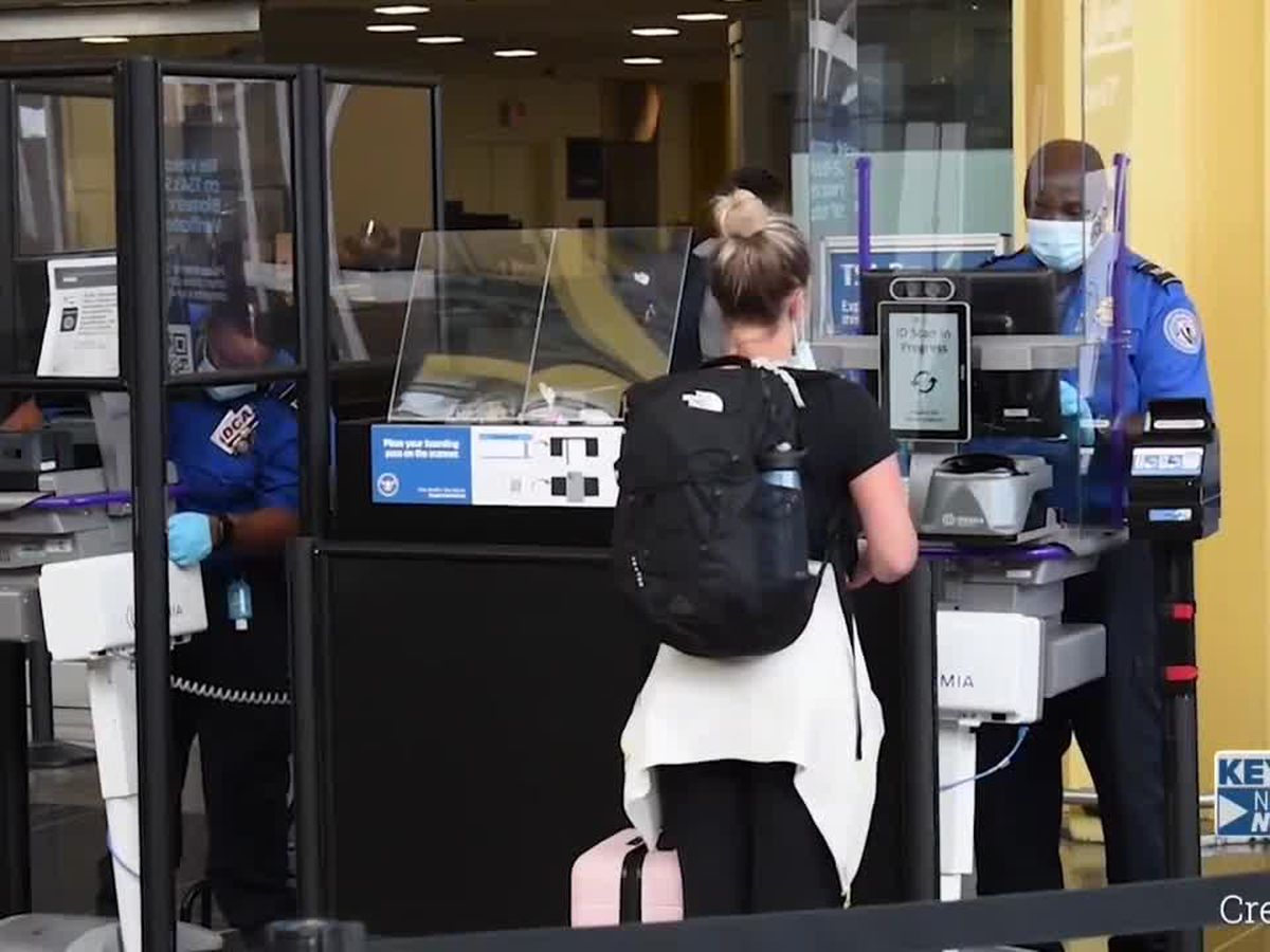 TSA screenings reach 1M multiple days during Thanksgiving travel period