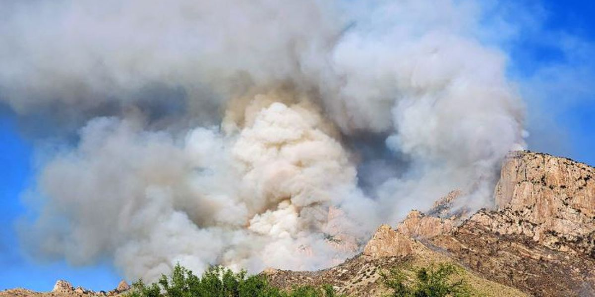 Drone grounds crews battling the Bighorn Fire