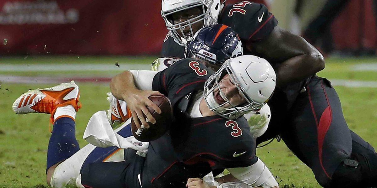Broncos return 2 interceptions for TDs, beat Cardinals 45-10