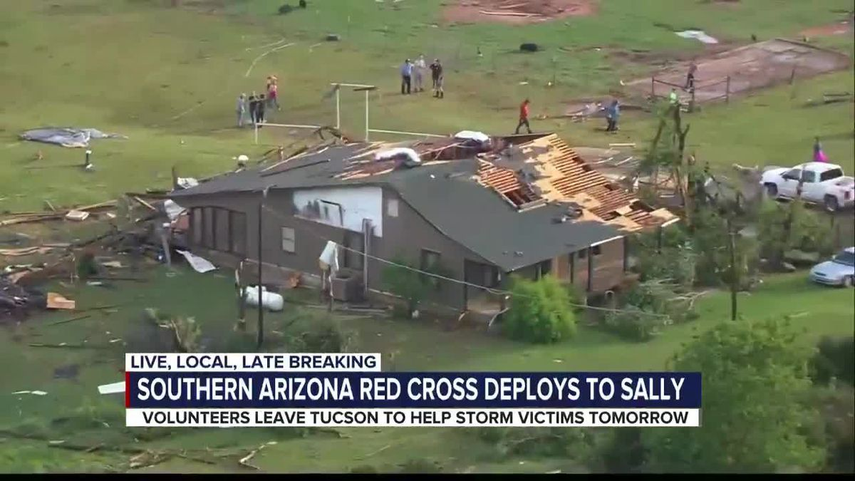 Southern Arizona volunteers head to help Sally's victims