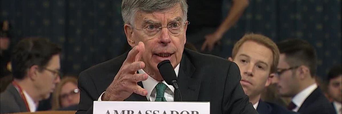 First day of public impeachment testimony featured diplomat