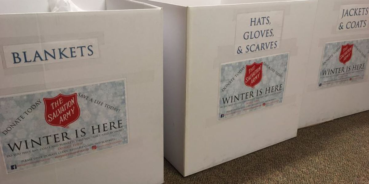 Salvation Army collecting cold weather donations