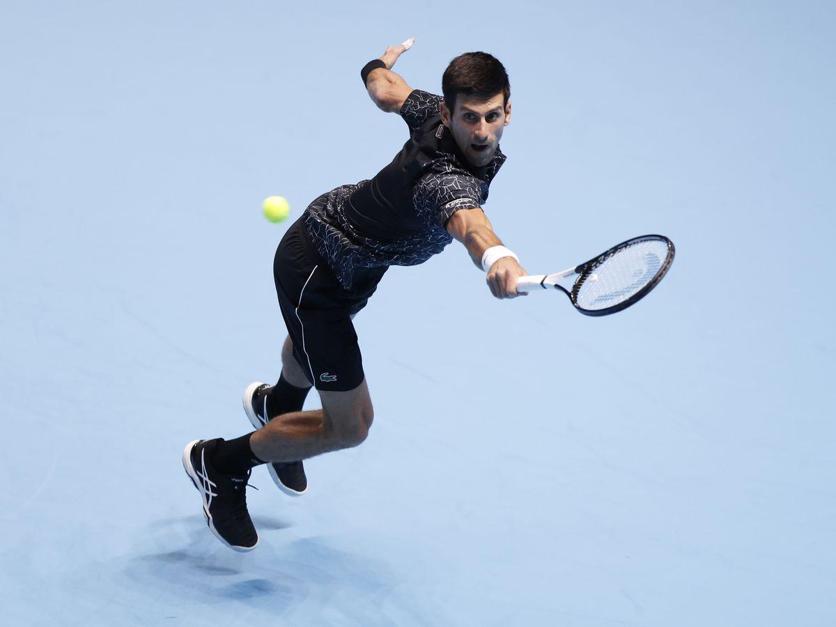Novak Djokovic closes in on semifinals at ATP Finals