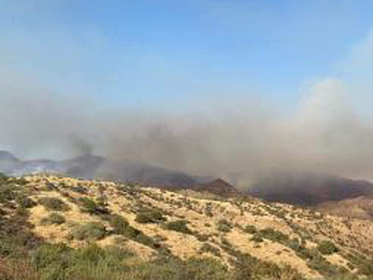 Habanero Fire mapped at 3,200 acres and is 25% contained