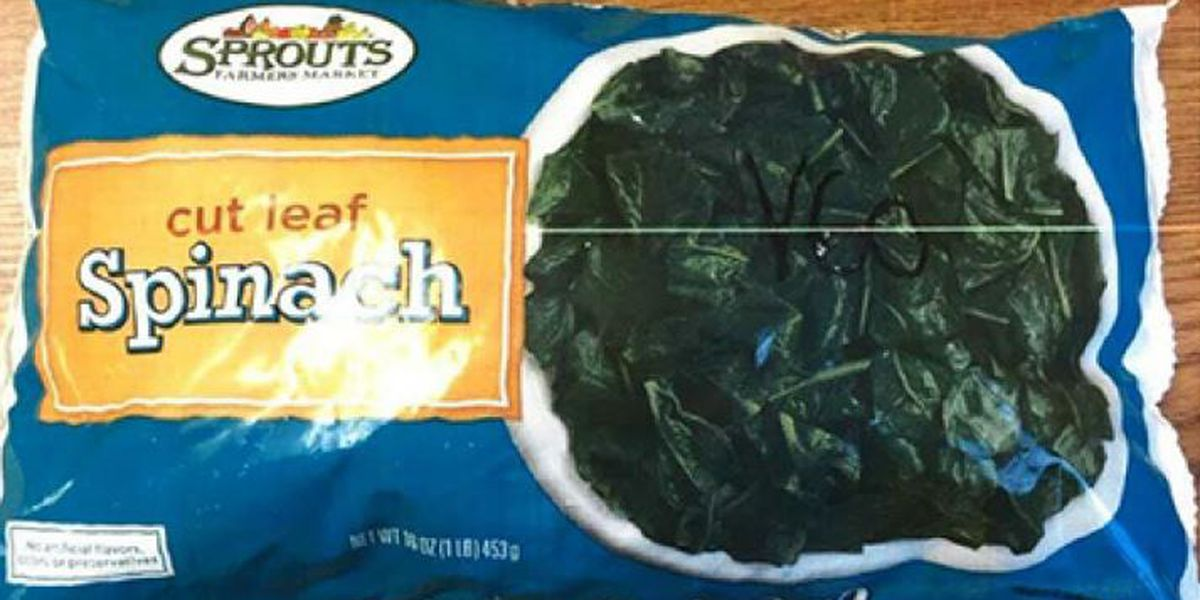 Sprouts recalls frozen spinach products because of Listeria concerns