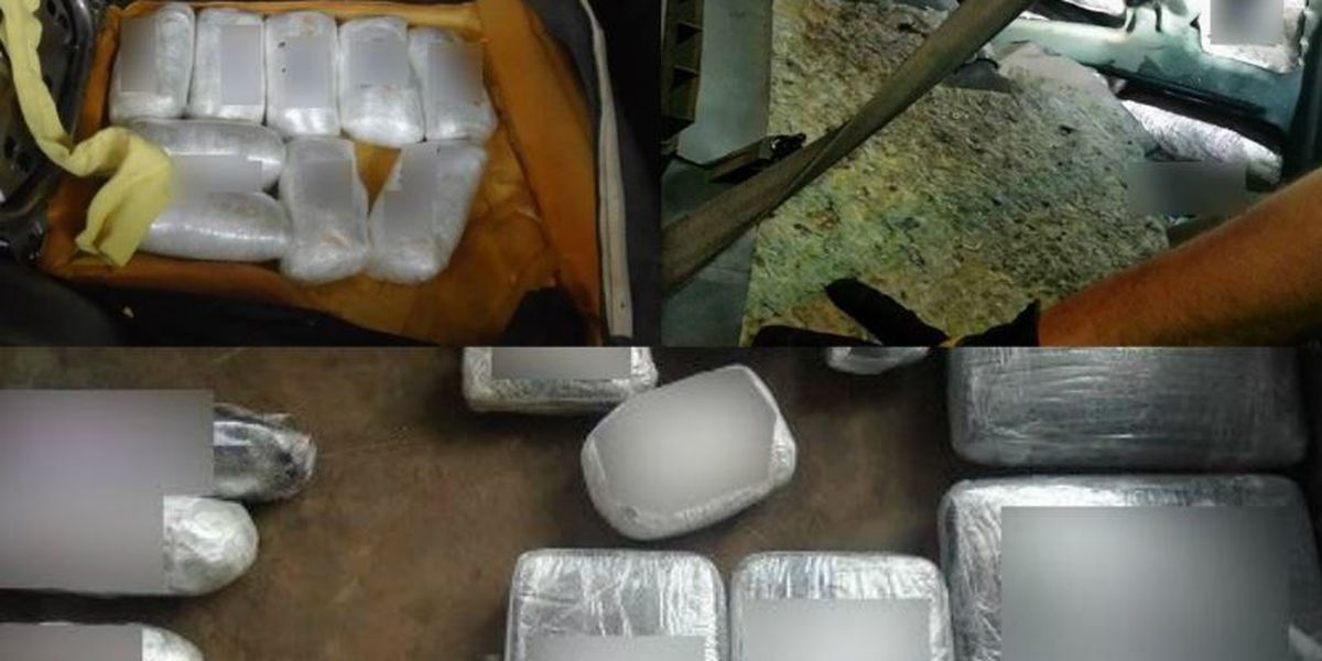 Nogales CBP officers arrest 4, seize $1.02 million in drugs