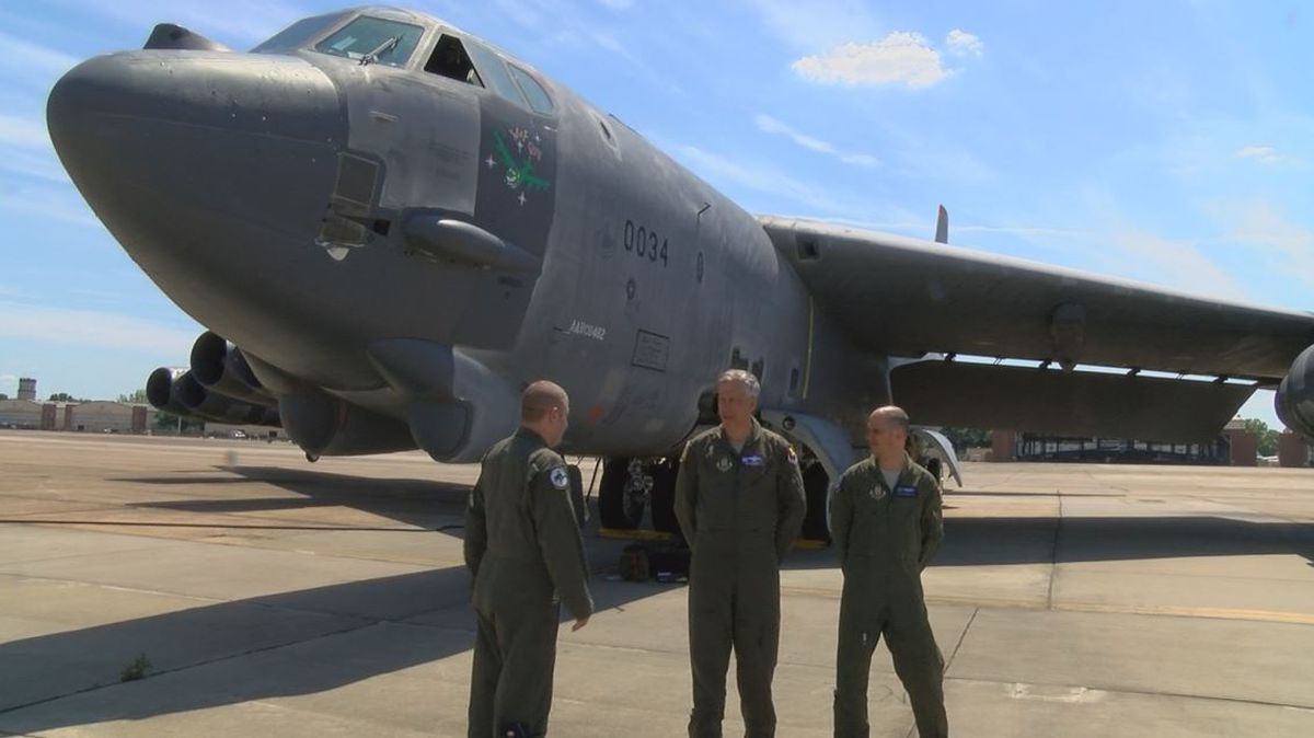 """Gas Prices Tucson >> Regenerated B-52 """"Wise Guy"""" arrives at Barksdale Air Force ..."""