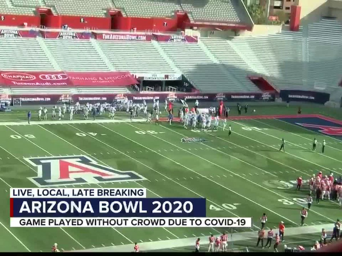 Organizers say Arizona Bowl looked very different in 2020