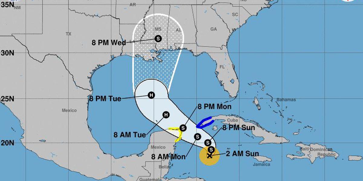 Tropical Storm Zeta forecast to intensify into hurricane