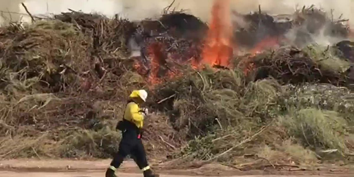 Northwest Fire, Golder Ranch Fire respond to compost fire near Ina and I-10