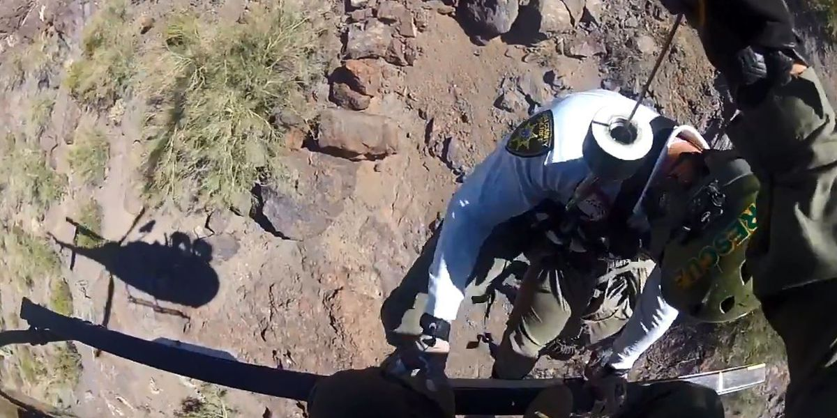 Rescuers use helicopter to help injured hiker on Picacho Peak