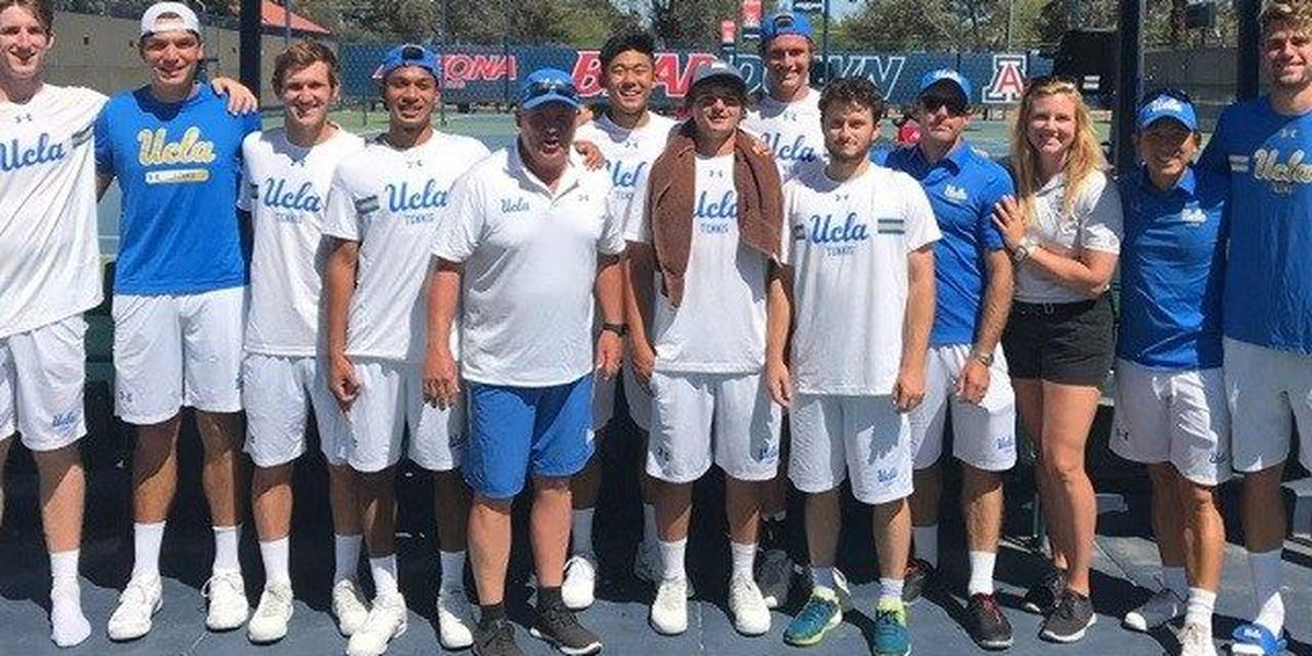 UA Men's Tennis bested by #2 UCLA on Senior Day