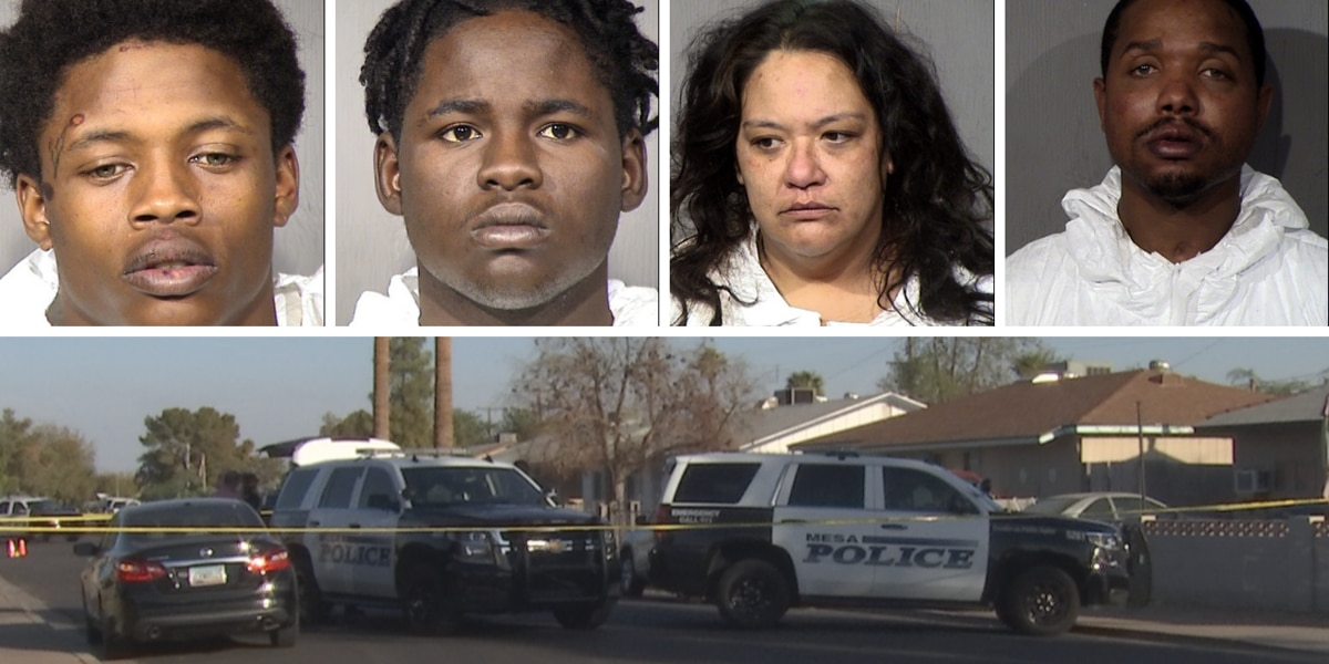 4 suspects arrested in connection to fatal armed robbery in Mesa