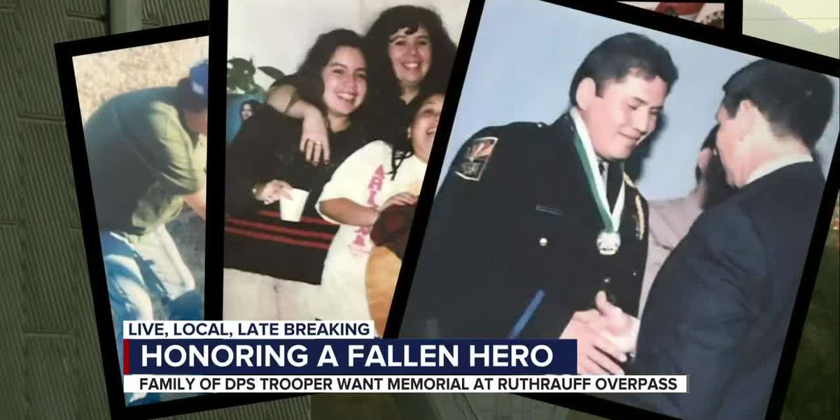 Petition to name Ruthrauff overpass after fallen DPS trooper receives thousands of signatures