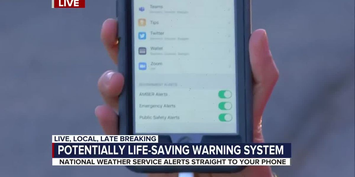 Weather service launches alert system to keep families safe during monsoon