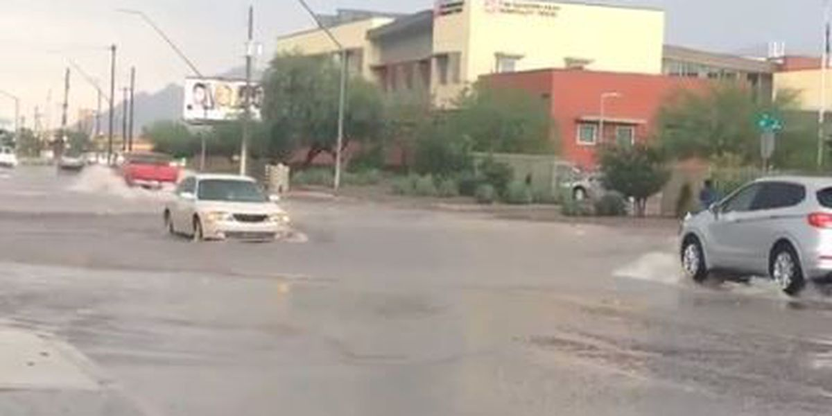 SOCIAL: Monsoon storms cause damage, flooding, power outage