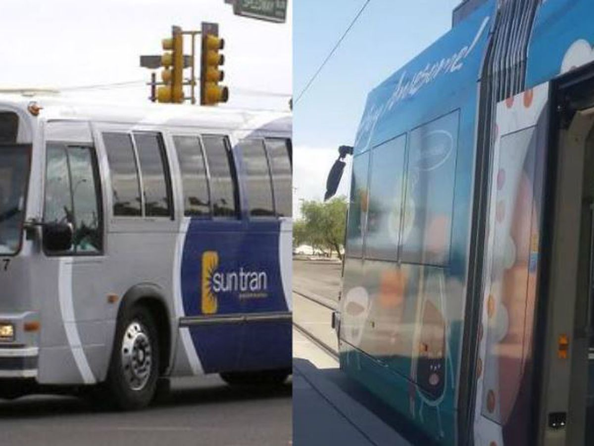 Sun Tran to provide bus bridge for streetcar riders during service for fallen deputy marshal
