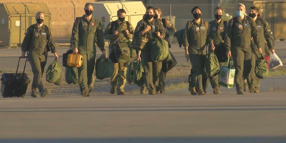 Davis-Monthan's 55th Electronic Combat Group takes first all-female flight