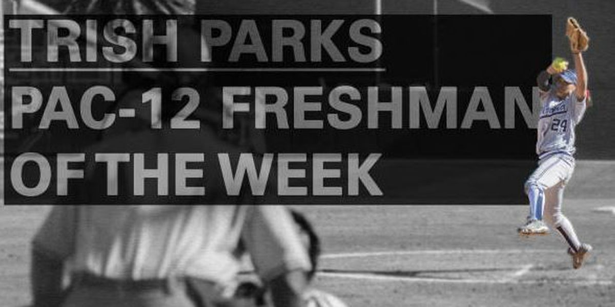Parks named Pac-12 Freshman of the Week
