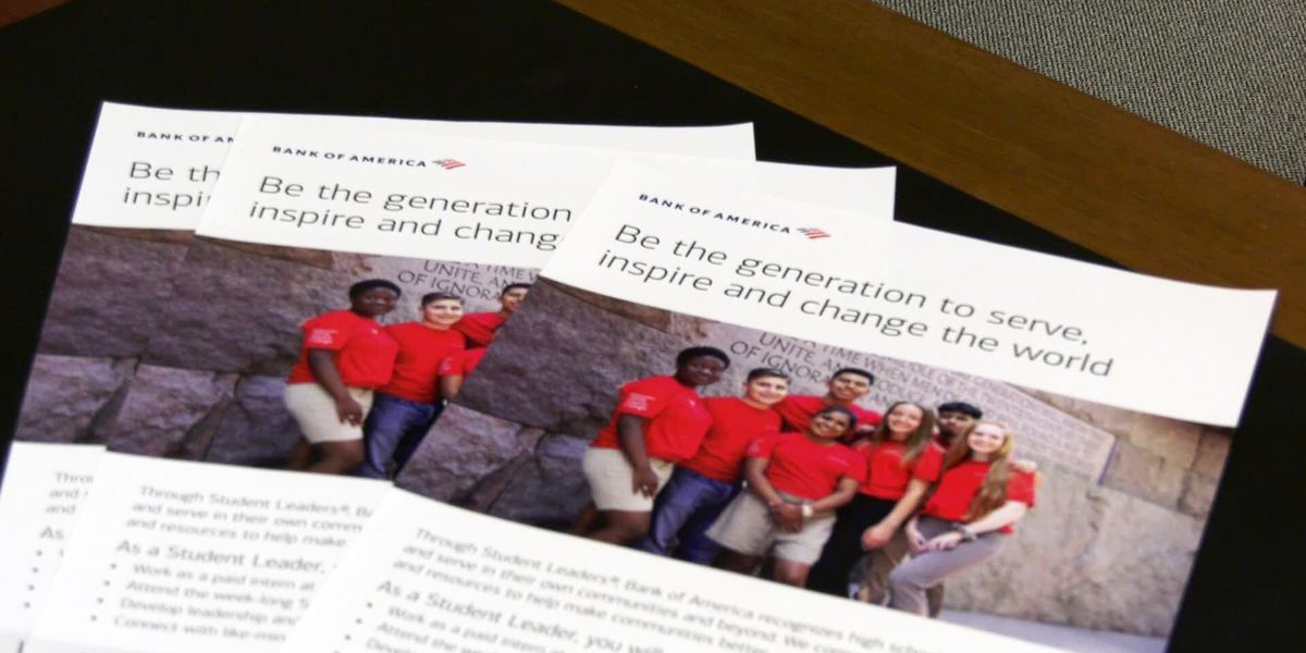 Bank of America Student Leader's program deadline approaching