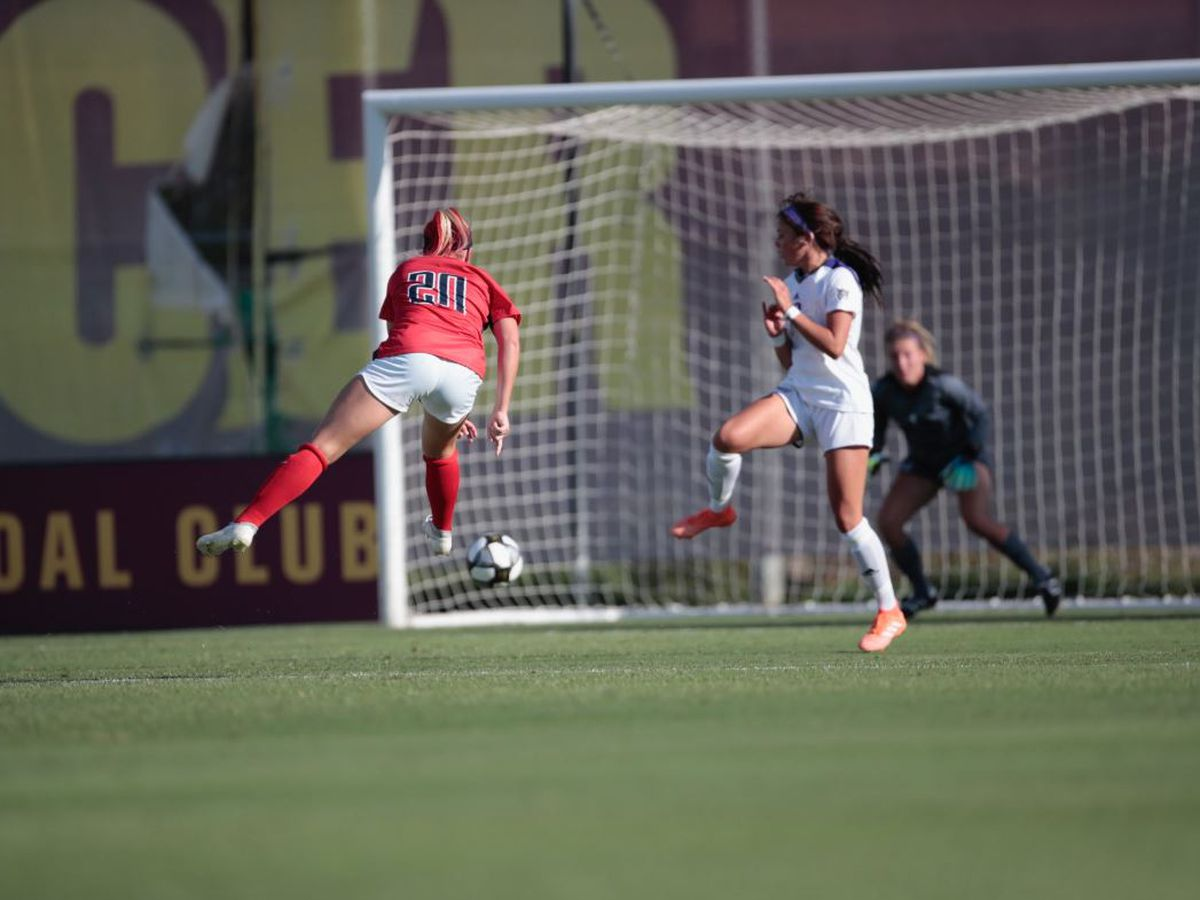 Arizona Soccer throttles Weber State in opener