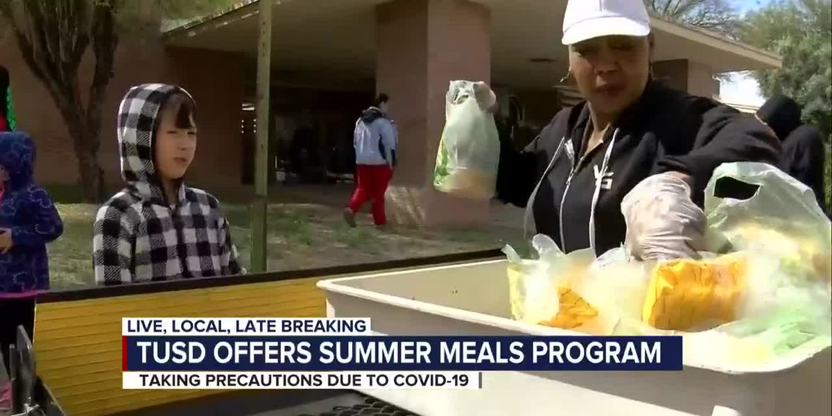 TUSD prioritizing safety during free summer meal program
