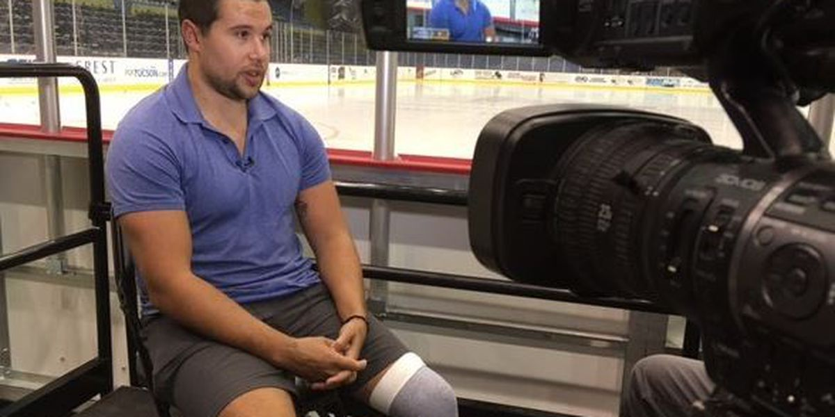 Roadrunners to retire jersey of captain who collapsed on ice