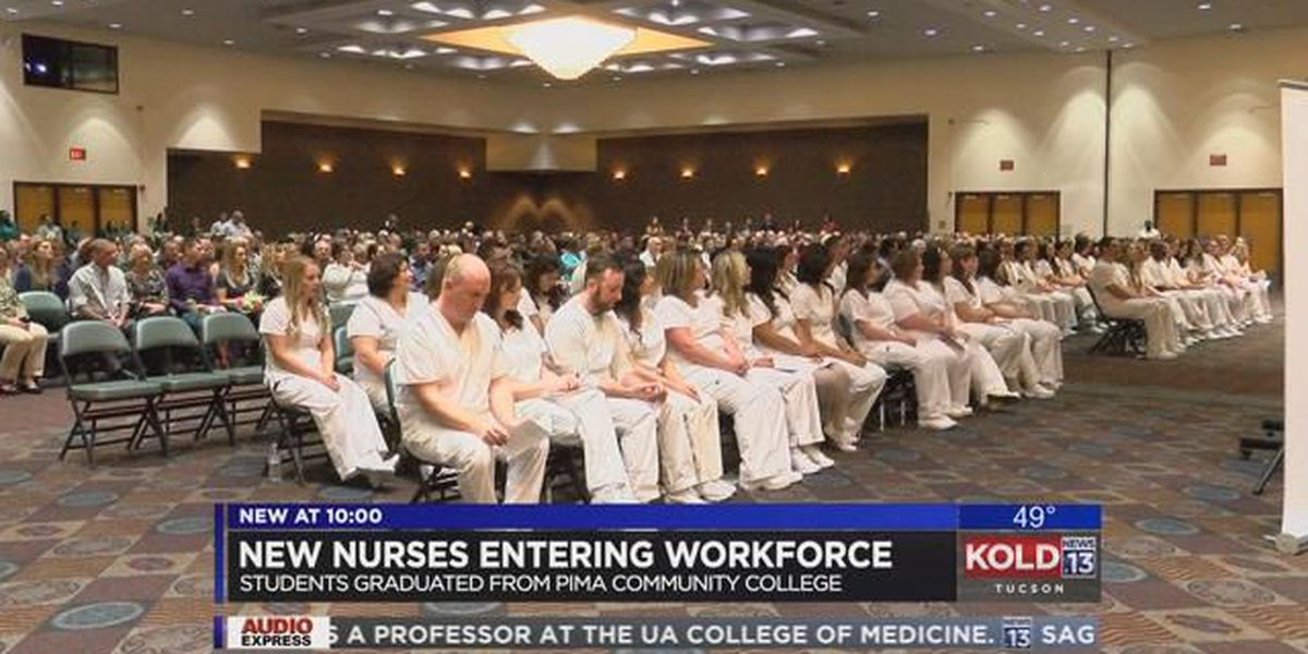 Nursing students graduate from PCC