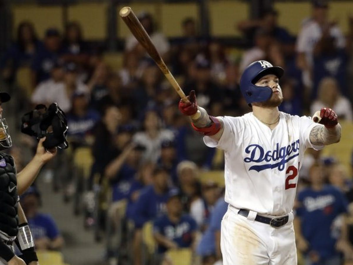 Verdugo's HR in 11th gives Dodgers 2nd straight walk-off win