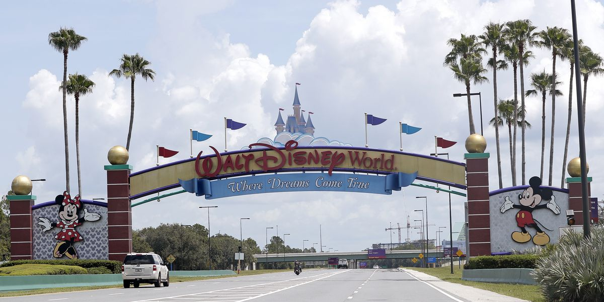 Parades, close-ups with Mickey out as Disney World reopens