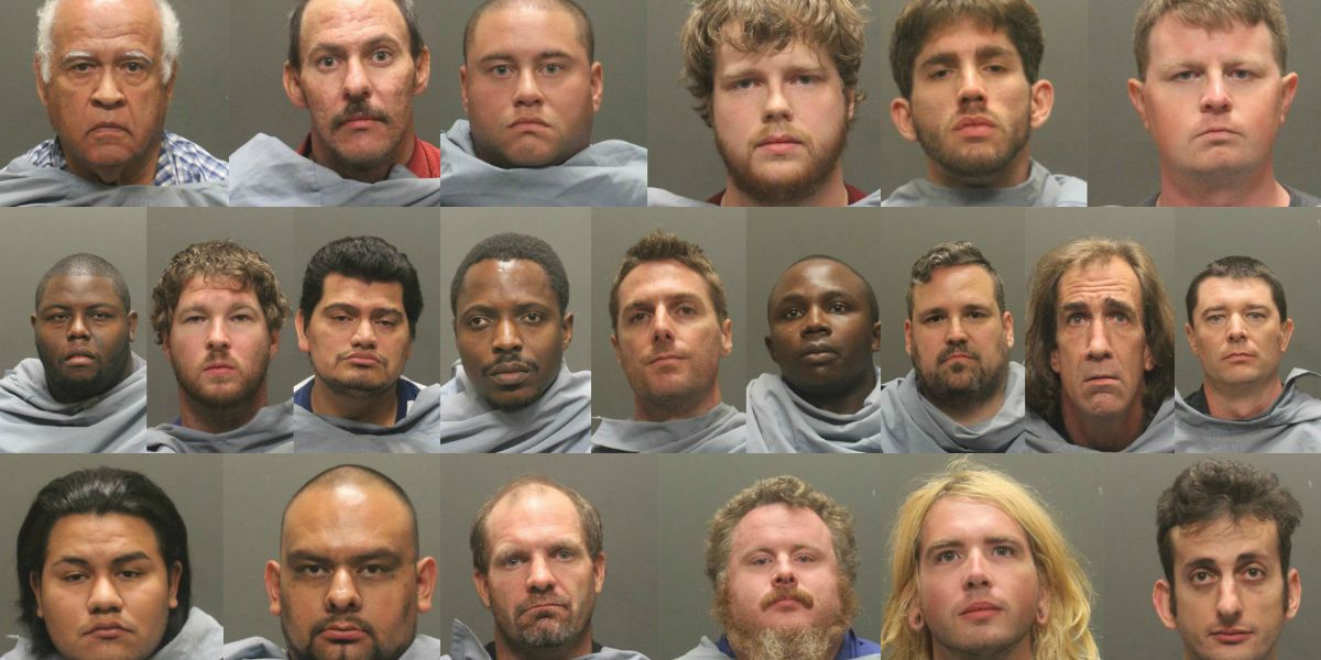 POLICE: 21 arrested in Tucson during sexual predator sting