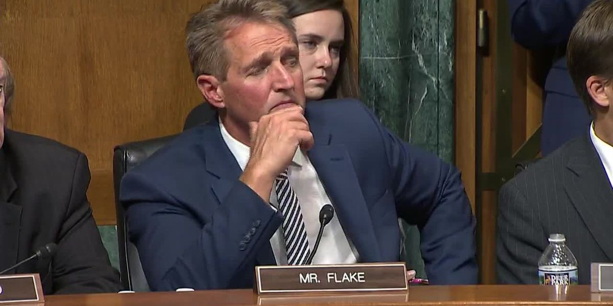 Pima GOP Chairman: Sen. Flake 'wild card' in Kavanaugh vote