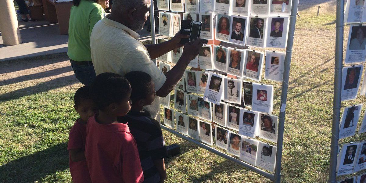 Homicide vigil turns individual grieving into group therapy