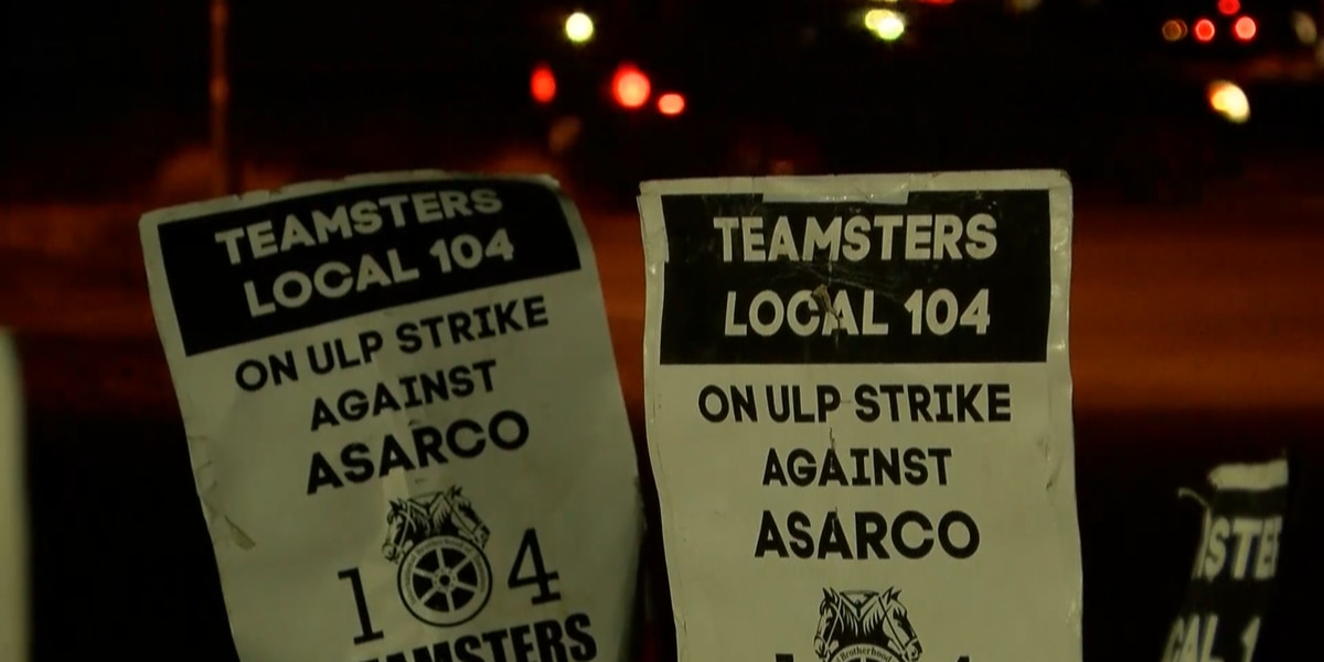 Teamsters Local Union 104 weigh options to thin ASARCO strike picket lines amid COVID-19 outbreak