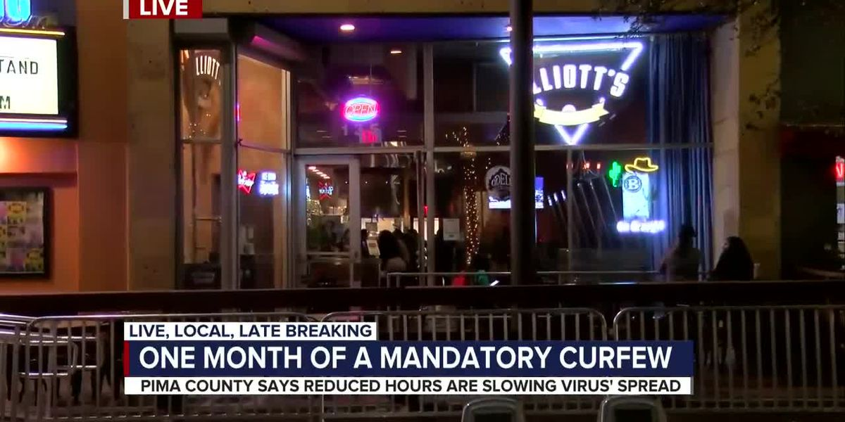 Local business trying to stay afloat a month into Pima County's mandatory curfew