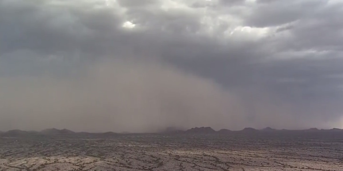 Predicting dust storms could help save lives