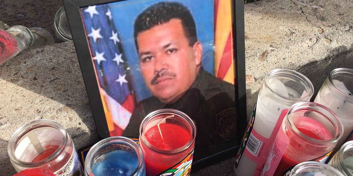 Hundreds attend vigil for slain Nogales Police officer