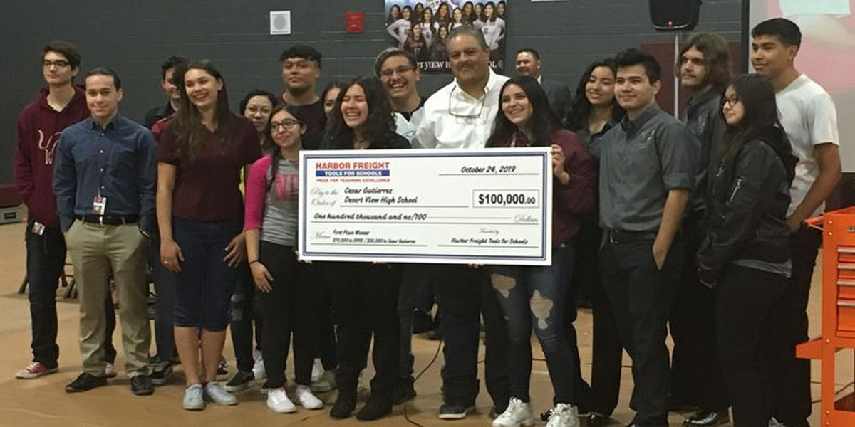Desert View skilled trades program, teacher win national honor