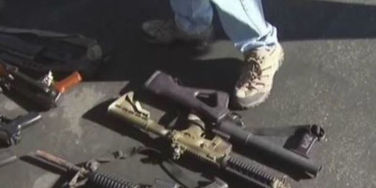 Tucson, state of Arizona in pitched gun battle