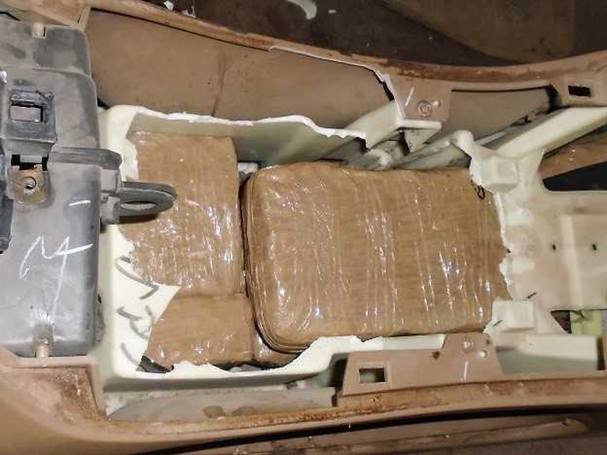 Douglas CBP officers intercept marijuana load
