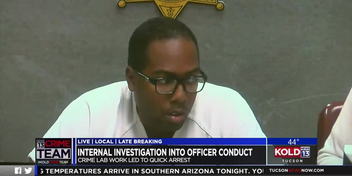 Internal investigation into officer conduct