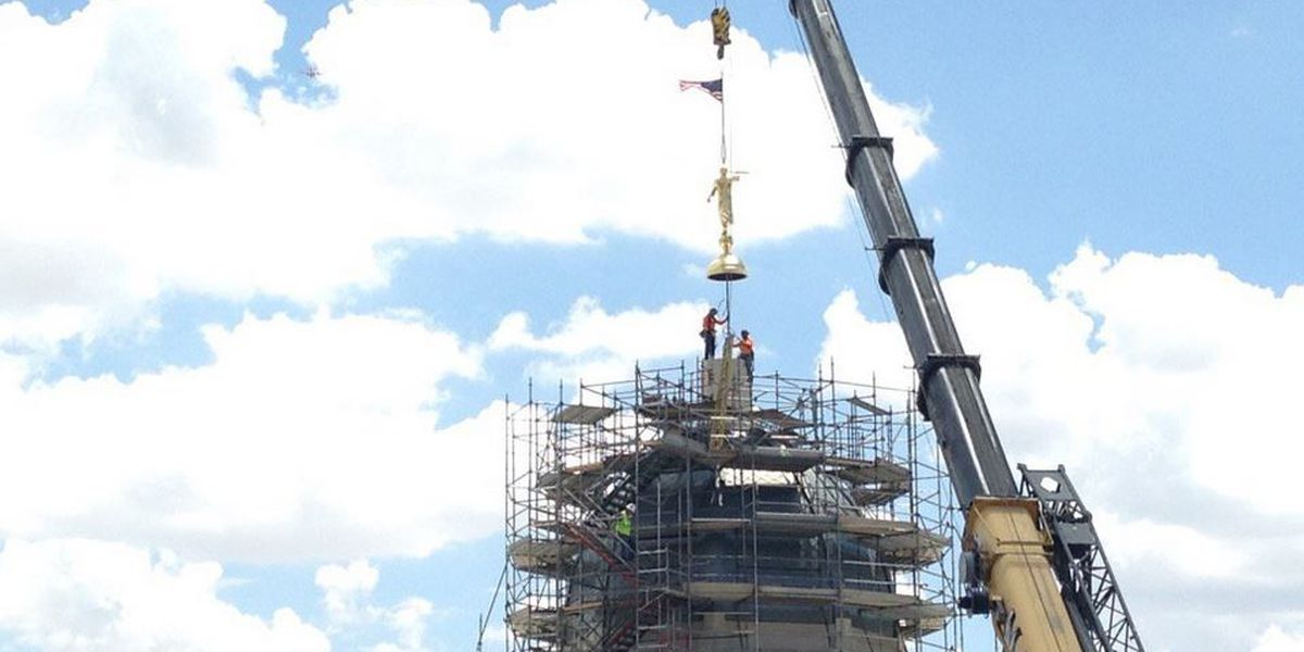 Mormon temple in Tucson reaches milestone