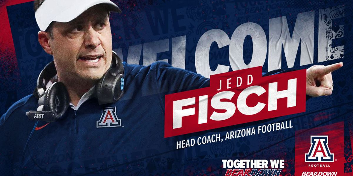 University of Arizona introduces Jedd Fisch as new head football coach