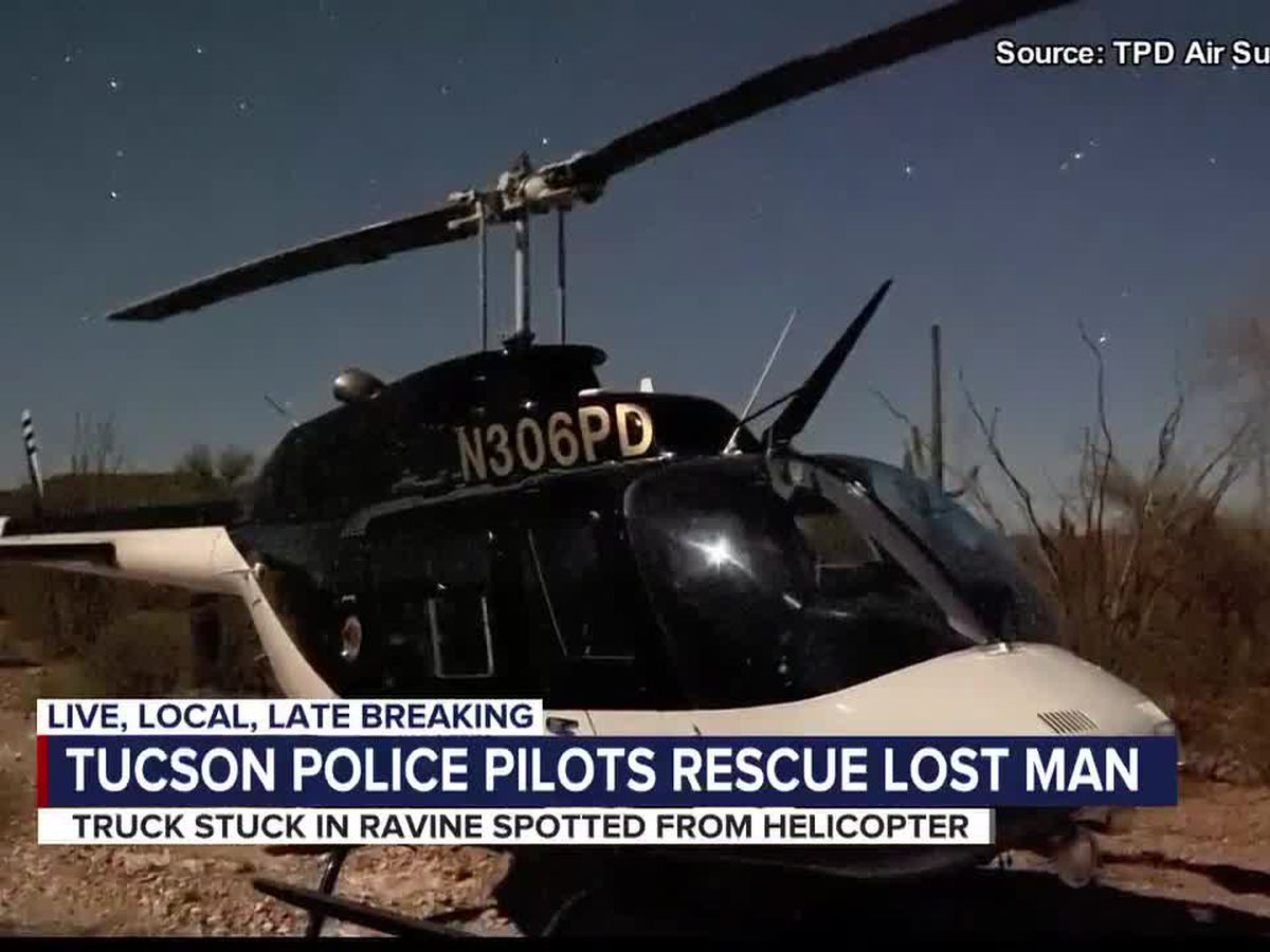 Miraculous Rescue: TPD pilots locate 83-year-old man lost in the desert in the middle of the night
