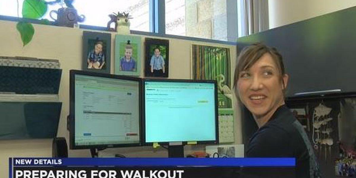 Parents weigh options for teacher walkout