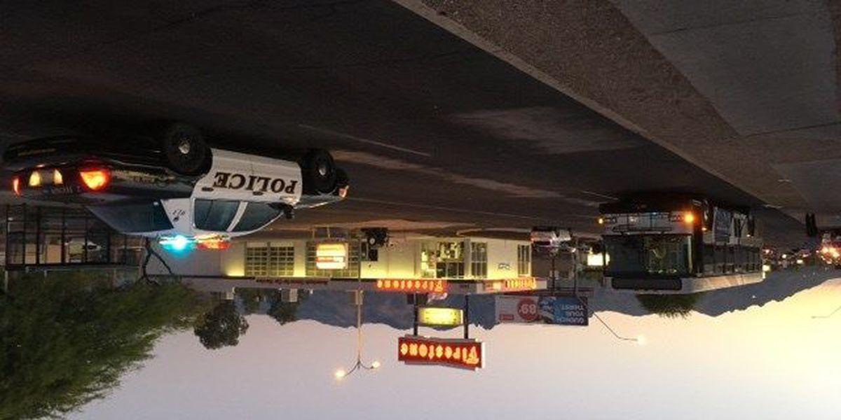 UPDATE: Pedestrian hit by bus near Grant