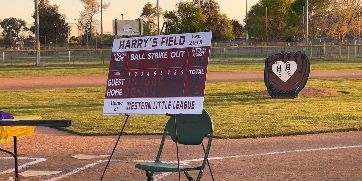 Baseball field renamed to honor Little Leaguer who passed away